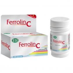 FERROLIN C KAPSLE - železo + vitamín C 30 ks ESI