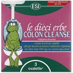 COLON CLEANSE tablety mini 3 ks ESI