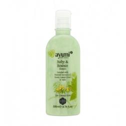 Šampon pro mastné vlasy (Neem,citr.tráva, Tulsi) 200 ml AYUURI