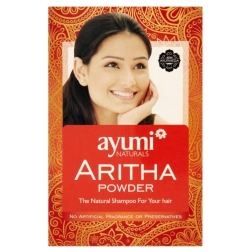 Prášek ARITHA - přírodní vlasový šampon 100 g AYUURI