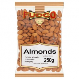Mandle natural 250 g FUDCO