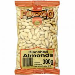 Mandle loupané  250 g FUDCO