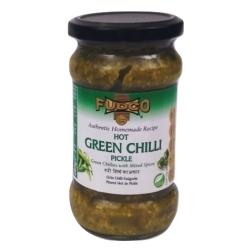 Pickle ZELENÉ ČILI 283 g FUDCO