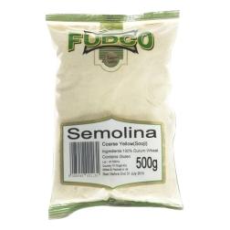 Semolinová mouka hrubá 500 g FUDCO
