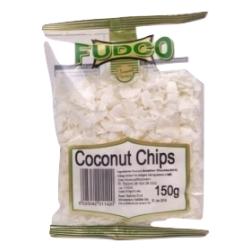 Kokosové chipsy 150 g FUDCO