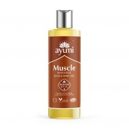 Olej masážní MUSCLE - pro masáž svalů 250 ml AYUURI