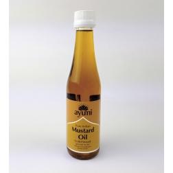 Olej hořčičný NATURAL ve skle 250 ml AYUURI