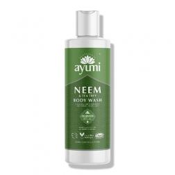 Sprchový šampon s neemem a tea tree 250 ml AYUMI