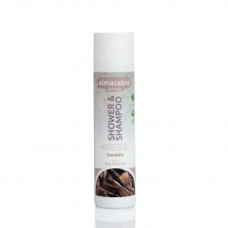Šampon tělový a vlasový SANTAL 250 ml ALMACABIO