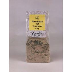 Sůl Himalájská růžová ČESNEKOVÁ 200 g AYURVITA