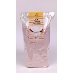 Sůl černá jemně mletá 500 g DNM