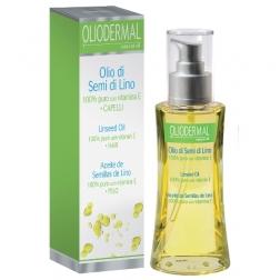 Lněný olej 100 % s vitamínem E - vlasy 100 ml ESI